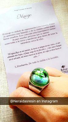 Neráidas  Blanca_bz de El diario de una yogui, nos manda una foto que ha compartido en su Fbk del anillo del bosque profundo. ¡Muchas gracias Blanca! 📷 @blanca_bz (instagram)