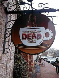 THE WAKING DEAD CAFE.. Love it!
