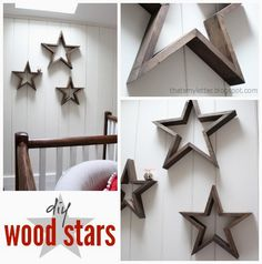 Wall: Trendy Wooden Star Wall Decor 20 DIY Decorations With Wood Diy Woods And Easy Want To Make A BIG One From Split Barnwood Boards For The Barn Or Maybe Side Of House Covered In Lights Great Christmas from Marvellous Wooden Star Wall Decor