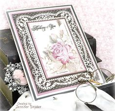 Scrap Escape: Cards to Celebrate -This features the beauty of the Tallulah Frill Frame from Becca Feeken's Chantilly Paper Lace collection by Spellbinders.    (gorgeous papers from Maja Design) #spellbinders #NeverStopMaking #spellbloggers  #majadesign #Amazingpapergrace #majadesignsweden