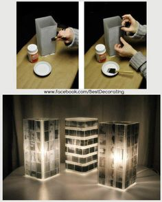Amazing use for old films, but you should back them up digitally first! :)
