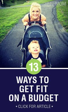 Think it's impossible to get fit and on a budget? Think again! Check out these 13 ways!