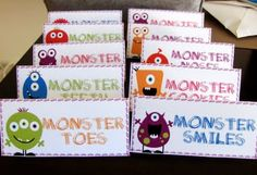 Paparazzi Love: Jay's 1st birthday Monster Bash monster birthday party, monster invitation, fruit monster, string monster cupcakes
