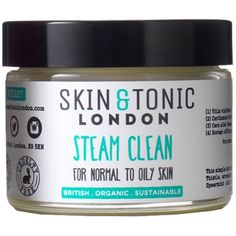 SKIN & TONIC - Steam Clean ($38) ❤ liked on Polyvore featuring beauty products, skincare, face care, face cleansers and dry skin face wash