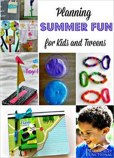 Planning Summer Fun for Kids