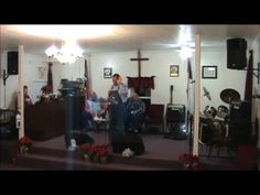 Pastor Clenard Thornsberry speaks on TOL's Year in Review for 2013, Watch Night Service, New Years Eve,  Live @ The Old Landmark Fundamental Church (TOL). 2013