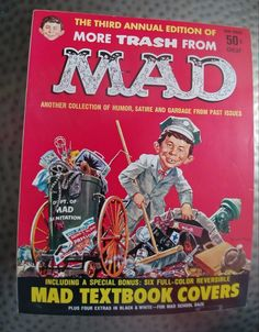 Vintage More Trash from Mad, Third Annual Edition, Plus Mad Textbook Covers, VF- | eBay