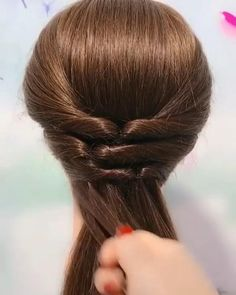 Front Hair Styles, Medium Hair Styles, Curly Hair Styles, Natural Hair Styles, Kids Hairstyles For Wedding, Bun Hairstyles For Long Hair, Long Hair Upstyles, Bridal Hair Buns, Curly Wedding Hair