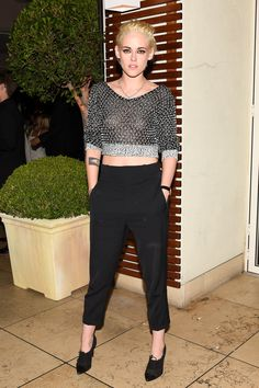 Kristen Stewart at Chanel N 5 event