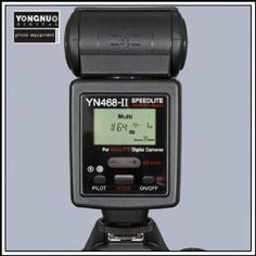 Yongnuo YN-468 II i-TTL Speedlite Flash With LCD Display, for Nikon - Read more at www.DigitalCameraExposure.com