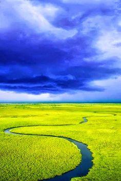 Okavango River, Angola