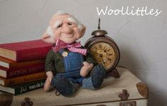 Needle felted gnome 3 by Woollittles on Etsy