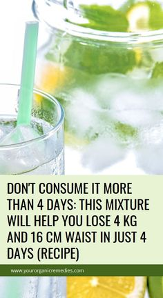 Don't Consume It More Than 4 Days: This Mixture Will Help You Lose 4 kg And 16 cm Waist In Just 4 Days (Recipe) Health Guru, Health Tips, Health And Wellness, Health And Beauty, Diarrhea Remedies, Herbal Remedies, Home Remedies, Natural Cures, Natural Oils