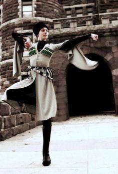 circassian male dancer