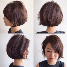 Japanese hairstyle design has always had its characteristics. So today we have collected 65 kinds of Japanese Messy short hairstyles idea. Let's look for amazing hair inspiration. Short Wavy Haircuts, Messy Short Hair, Thick Curly Hair, How To Curl Short Hair, Cool Short Hairstyles, Short Hair Cuts, Wedding Hairstyles, Short Hair Styles For Round Faces, Short Hair Styles Easy