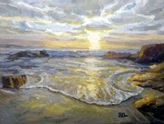 sea along  60x80 oil on canvas