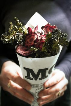 ..Twigg studios: baked beet and kale chips