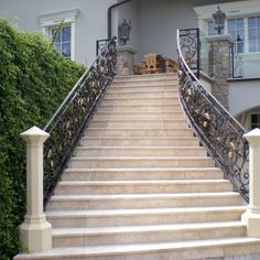 Geländer 3 Stairs, Home Decor, Hand Railing, Stairway, Decoration Home, Room Decor, Staircases, Home Interior Design, Ladders