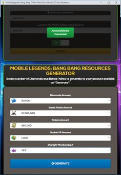 Mobile Legends Hack 2019 Updated Generator — How to Get Unlimited Diamonds No Survey No Verification Mobile Legends Bang Bang Hack — Get Free 9999999 Diamonds How to Get Free Diamonds on Mobile. Legend Mobile, Alucard Mobile Legends, Episode Choose Your Story, Play Hacks, App Hack, Android Hacks, Iphone Mobile, Free Gems, Hack Online