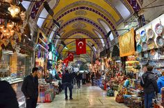 The Grand Bazaar Grand Bazaar, Istanbul, Times Square, Street View, Colours