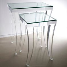 Curve Nesting Side Tables (set of 2) by HStudio www.hstudio.com