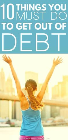 A simple step-by-step plan to get out of debt, once and for all. If you want to become debt-free, have a read of this article and start to make a plan. Become debt-free Pay Debt, Debt Payoff, How To Become, How To Get, How To Plan, Debt Free Living, Debt Snowball, Paying Off Credit Cards, Benefits Of Exercise