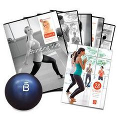 "Got this ""28 Days to Great Program"" 5 DVDs + core ball kit last December on Living Social for $48 and I love the workouts- barre3 ""where ballet barre meets yoga and pilates"""