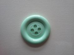 Sale  Extra Large Button  Mint  was 3.00 now 1.50