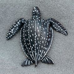 Leatherback Sea Turtles are just one of several turtles that are becoming CRITICALLY endangered