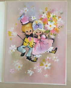 """Vintage Greeting Card - """"Thank You Card"""" Coronation- Unused Excellent Condition 