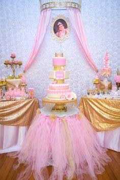 Royal Princess 1st Birthday Party Princess Party Ideas