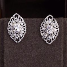 Zircon Earring JHZ-407 USD42.24, Click photo for shopping guide and discount
