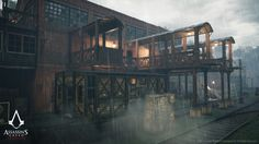 ArtStation - Assassin's Creed Syndicate - Sequence 2, Pierre FLEAU