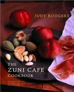 Amazon.com: The Zuni Cafe Cookbook: A Compendium of Recipes and Cooking Lessons from San Francisco's Beloved Restaurant (9780393020434): Judy Rodgers, Gerald Asher: Books  {TRY: pickled red onion/tart dough/orange currant scone/roast chicken/farro salad/ eggs fried in breadcrumbs}