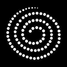 Moderno Diseño Espiral plantillas, stensils y stencles