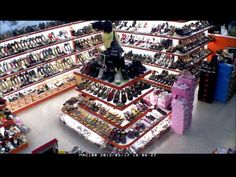 Motion Activated Camera (MAC100) works at shoe shop