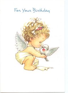 Angel birthday cards | FOR YOUR BIRTHDAY GREETING CARD