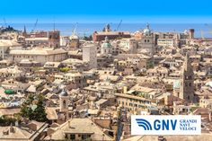 #Castelletto is a quarter of #Genova form wich you can  see the panoram of the city from the top. #Genova,#Italy. Discover #GNV routes from/to #Genoa&#Liguria here: http://www.gnv.it/en/ferries-destinations/genoa-ferries-liguria.html