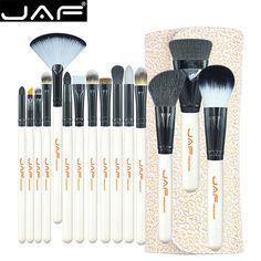 JAF 15 Pcs Makeup Brush Set Professional Face Cosmetics Blending Brush Tool Makeup Brush Set Dropship 10.16