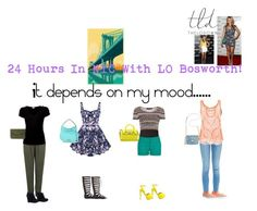 """""""24 stylish hours in NYC with Lo Bosworth"""" by sasisfashion on Polyvore"""
