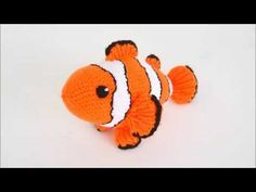 Amigurumi Crochet Pattern Clownfish - Pattern Presentation - YouTube