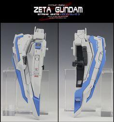 MG Zeta Gundam Strike White Z ver. Zeta Gundam, Msv, Conversation, The 100, Resin