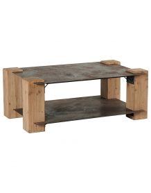 Table Basse bois acier