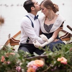 Part one of an amazing shoot inspired by the Great Gatsby created by some of our favourite Irish wedding creatives...
