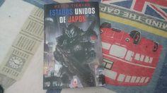 """""""Estados Unidos de Japón"""" escrito por Peter Tieryas."""