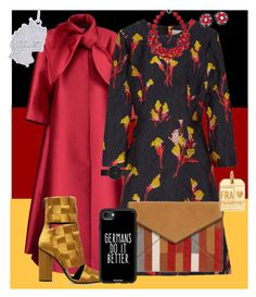 """""""Frau der Welt (Woman of the World)"""" by scope-stilettos ❤ liked on Polyvore featuring Merchant Archive, Jason Wu, Marco de Vincenzo, Rebecca Minkoff, Plumeria Exclusive London, Miriam Haskell, Newgate, Casetify, Rembrandt Charms and Jet Set Candy"""