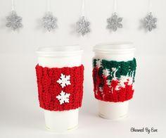 #12WeeksChristmasCAL Bonus Pattern #3 - Wonderland Cup Cozy