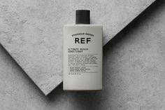 Visual identity and package design by Scandinavian studio Kurppa Hosk for Swedish hair care brand REF