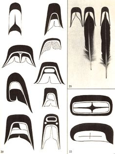 First Nations Artwork (Haida) Arte Haida, Haida Art, Native American Crafts, American Indian Art, First Nations, British Columbia, Sketch Manga, Inuit Art, Tlingit