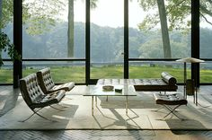 Philip Johnson's private residence – The Glass House